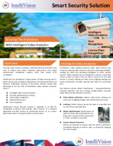 Securing the Enterprise with Intelligent Video Analytics white paper