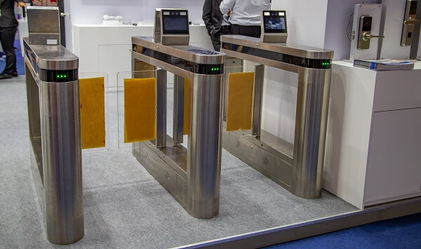 Turnstiles with face recognition